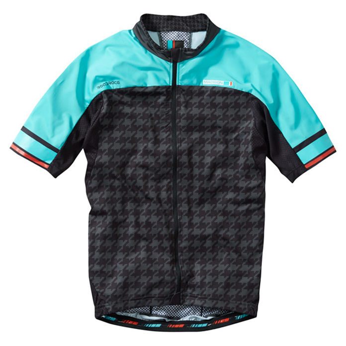 Madison Premio Men's Jersey Blue Houndstooth - product images  of