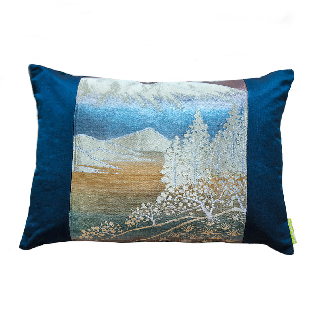 Blue Mountain Silk Velvet Cushion - product images  of