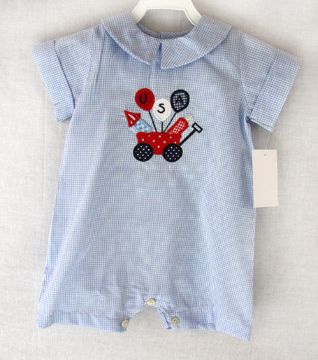 Baby Boy fourth of july outfit