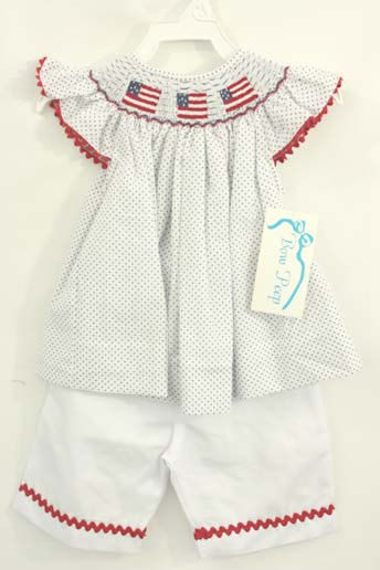 4th of july infant clothes