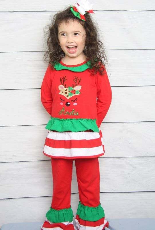 Toddler Girl Christmas Outfit