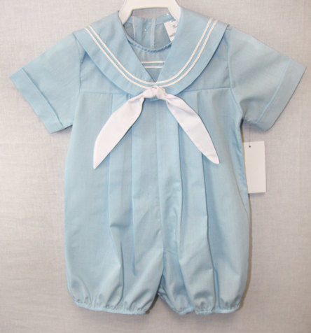 Nautical Baby Clothes, Baby Boy Sailor Outfit, Toddler Boy Sailor Outfit 291712 - product images  of