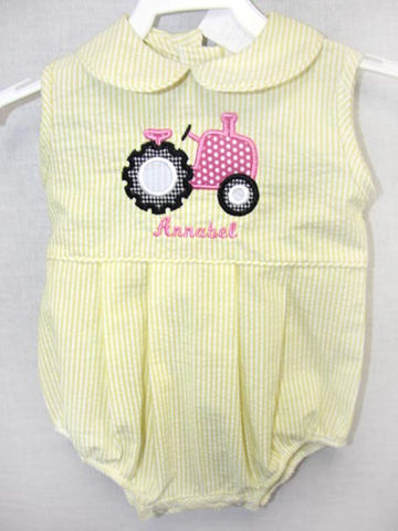 Baby,Girl,Onesies,,Bubble,Romper,,Tractor,Birthday,Outfits,292155,Clothing,Children,Baby_Girl_Bubble,Baby_Bubble,Tractor_Birthday,Baby_Girl_Clothes,Baby_Bubbles,Baby_Bubble_Suit,Baby_bubble_Romper,Siblings_Outfits,Twin_Babies,Baby_Girl_Romper,Infant_Bubble_Romper,Baby_Girls_Romper,Little_Girls_rompers,Cotton Fabric