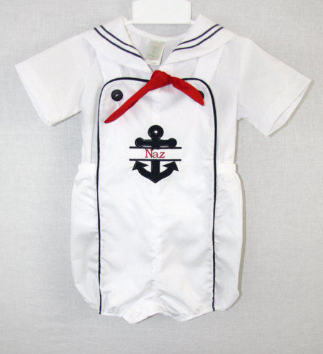Baby Sailor Suit | Baby Boy Sailor Suit | Sailor Suit for Baby Boy 291969 - product images  of