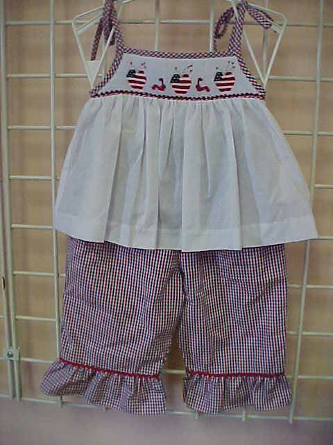 Toddler Girl 4th of July Outfit, Baby Girl 4th of July Outfit, 4th of July Outfits for Girls 412393 - BB039 - product images  of