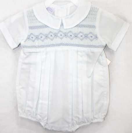 Baby Bubble | Smocked Baby Bubbles | Baby Bubble Suit 412332-J049  - product images  of