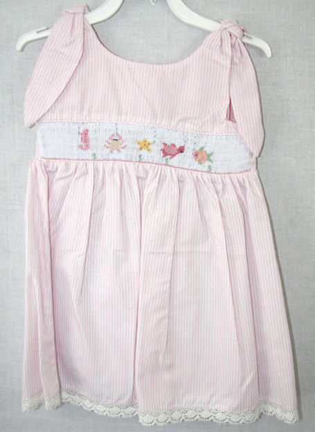Spring Dresses for Girls | Smocked Dress |Toddler Spring Dresses 412125 -A125 - product images  of