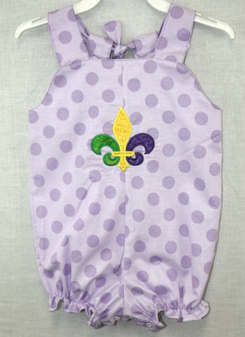 Baby,Football,Outfit,|,Mardi,Gras,Clothes,412265-BB032, Baby Football Outfit - Baby Girl Clothes - Baby Girl Football - Fleur De Lis Clothing - Mardi Gras Clothing - Baby Clothes