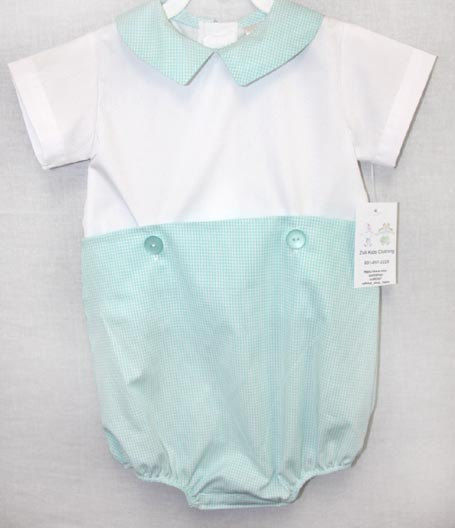 Newborn Clothes | Infant Boy Clothes | Bubble Romper 292105 - product images  of
