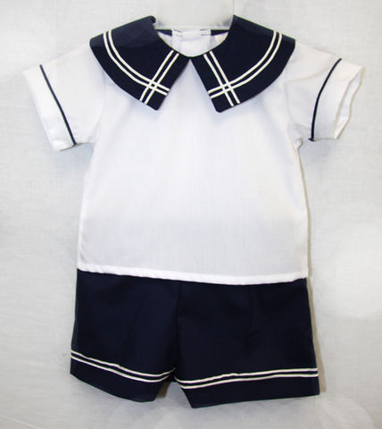 Nautical,Clothing,|,Outfits,Sailor,Outfit292334,Children,Boy,Boys_Short_Set,Toddler_Boys_Shorts,Little_Boys_Shorts,Toddler_Boy_Outfit,Baby_boy_Outfit,Baby_Clothes,Childrens_Clothing,Childrens_Clothes,Toddler_Twins,Twins_Outfits,Siblings_Outfits,Brother_Sister,Brother_Brother,Cotton Fabric,65 P