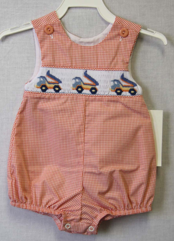 Construction First Birthday Outfit  | Baby Shortalls | Sunsuit 412458 -BB007 - product images  of