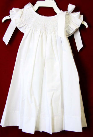 Toddler,White,Dress,|,Baptism,Dresses,Baby,412500-BB051,Clothing,Children,Baby_Girl_Clothes,Easter_Dresses,Baby_Girl_Easter,Easter_Outfits,Infant_Easter_Dress,Easter_Outfit,Smocked_Dresses,Newborn_Girl_Easter,Baby_Easter_Dress,Baby_Easter,Smock_Dress,Baby_Girl_Smocked,Smocked_Bishop,Poly Cotton Fabric