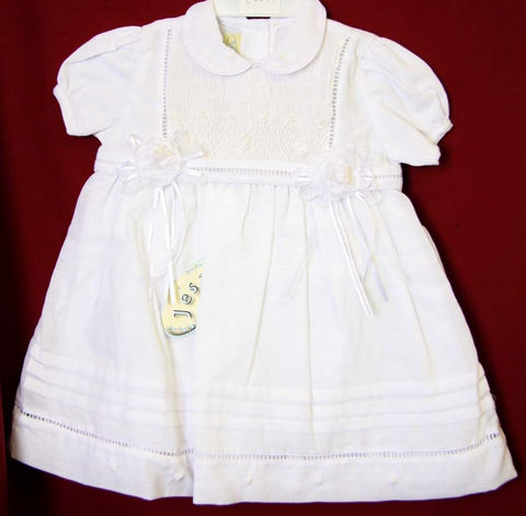 Baby,White,Dress,|,Beach,Dresses,Zuli,Kids,Clothing412541,-,CC0447,Clothing,Children,Baby_Girl_Clothes,Easter_Dresses,Baby_Girl_Easter,Easter_Outfits,Infant_Easter_Dress,Easter_Outfit,Smocked_Dresses,Newborn_Girl_Easter,Baby_Easter,Smock_Dress,Baby_Girl_Smocked,Smocked_Bishop,Vintage_Style,PolyCotton Fabric