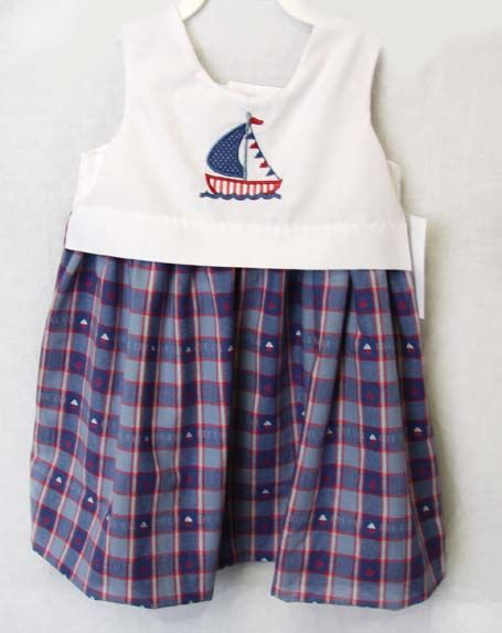 Girls Sailor Dress - Zuli Kids  292461 - product images  of