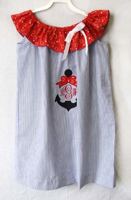 Baby Girl Sailor Outfit | Sailor Dress 292424 - product images  of