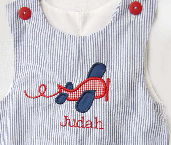 Airplane Birthday Party, Baby Boy Shortalls,  Zuli Kids Clothing 292475 - product images  of