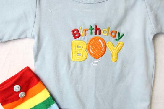 Personalized Birthday Onesie | Baby Leggings | Zuli Kids Clothing 292563  - product images  of