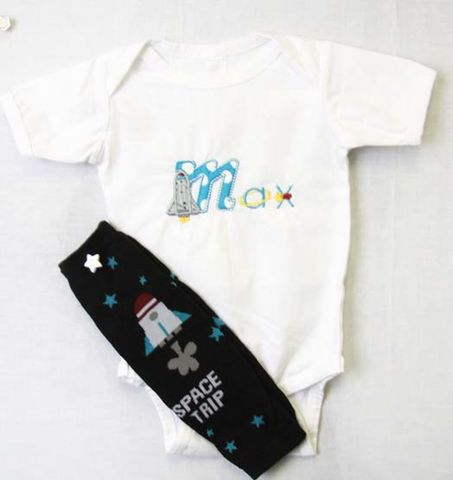 Space,Birthday,Clothes,|,Rocketship,Zuli,Kids,Clothing,292506,Rocket Ship Birthday Outfit | Personalized Baby Gifts | Baby Boy Leg Warmers | Baby Boy Leggings | Baby Birthday Outfit