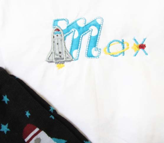 Space Birthday Clothes | Rocketship Birthday Clothes | Zuli Kids Clothing 292506 - product images  of