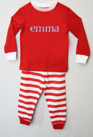 Pajamas,for,Kids,|,Christmas,292624, Kids Christmas Pajamas - Personalized Pajamas - Christmas PJs - Christmas Pajamas for Children - Family Christmas Pajamas