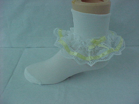 Pageant Socks for Toddlers - Baby Girl Pageant Socks 292413 - product images