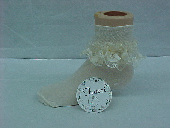 Ruffle Socks Baby  - Baby Girl Pageant Socks 292387 - product images