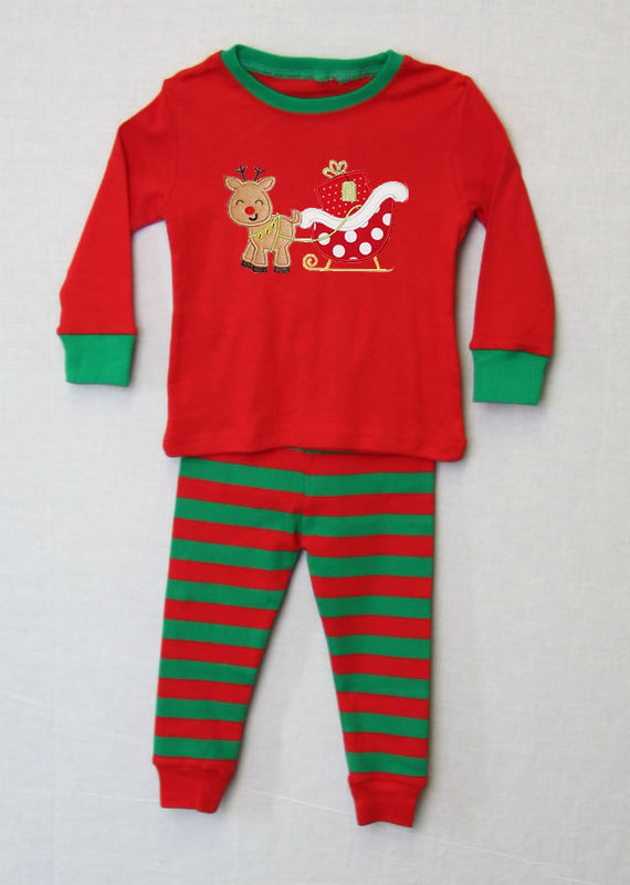 Matching Christmas Pajamas, Personalized Christmas Pajamas 292644 - product images  of