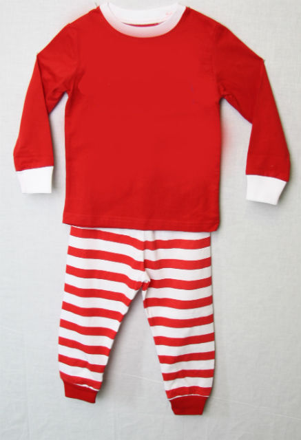 Kids Christmas Pajamas, Personalized Christmas Pajamas, Boys Pyjamas 292646 - product images  of