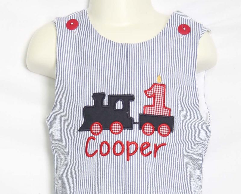 Train Birthday Outfit, Boys First Birthday Outfit, Second Birthday Boy Outfit 292885 - product images  of