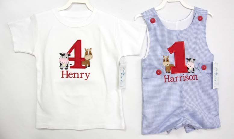 8e70f98eb4e6 Birthday Boy Shirt, Birthday Boy Outfit, Farm Birthday Outfit Boy 292994 -  Zuli Kids Clothing
