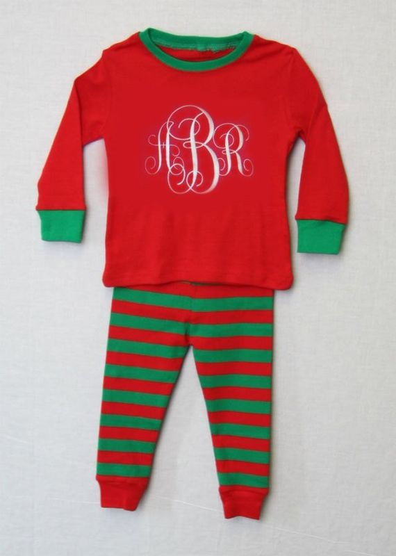 Christmas Pyjamas, Christmas Pajamas, Matching Christmas Pajamas, Toddler Christmas 292621 - product images  of