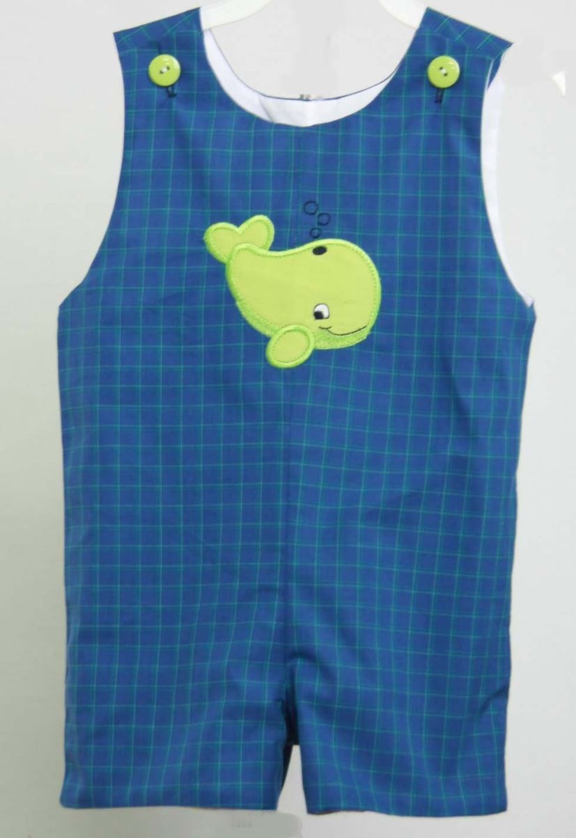 Baby Boy Shortalls Baby Longalls Whale Clothing Clothes With
