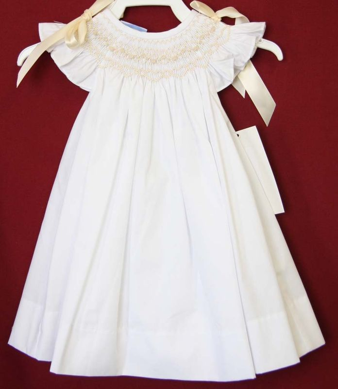 Baby Flower Girl Dresses, Baby Girl Dresses for Weddings, Smocked Dresses 412554-CC057 - product images  of