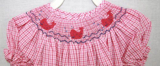 Smocked Dresses, Smocked Baby Dresses, Smocked Easter Dresses 412053 A040 - product images  of