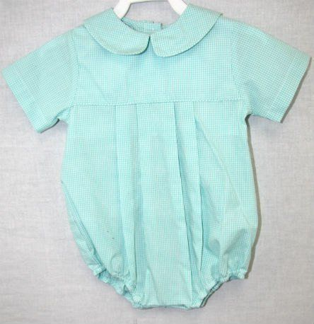 Baby Boy Coming Home Outfit, Baby Boy Bubble Romper 293551 - product images  of
