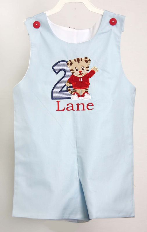 Baby Boy First Birthday Outfit, Daniel Tiger Birthday, Daniel Tiger Birthday Shirt 292794 - product images  of