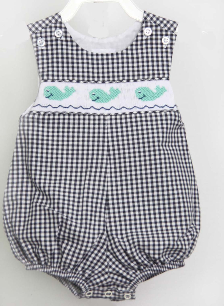 Whale Clothing Clothes With Whales Smocked Baby Boy Clothes