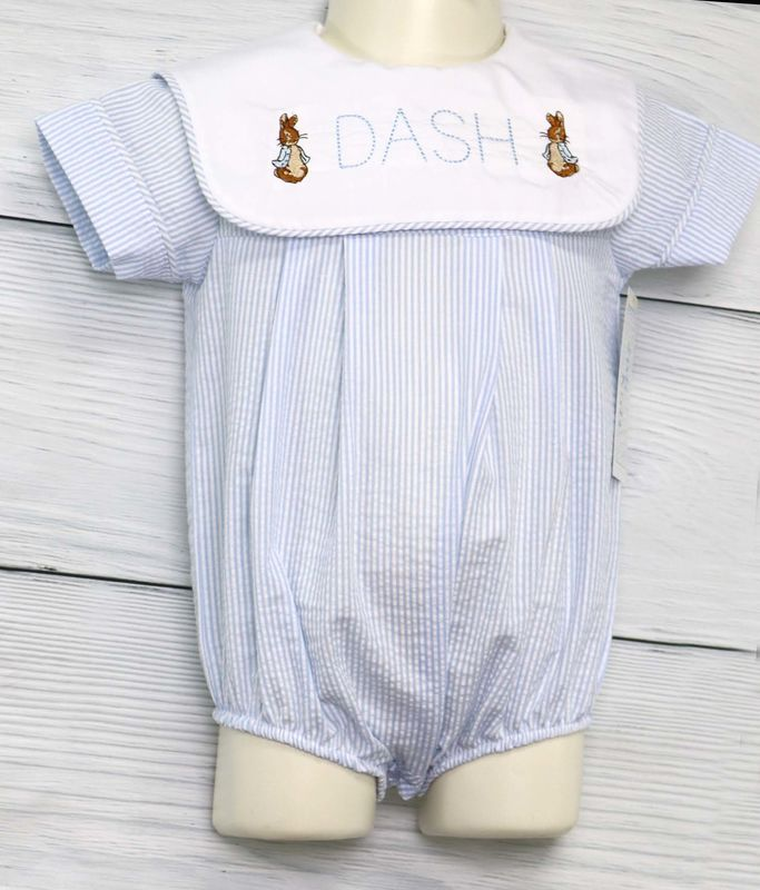 Baby First Easter Outfit | Baby Boy Peter Rabbit Easter | Peter Rabbit Easter 293290 - product images  of