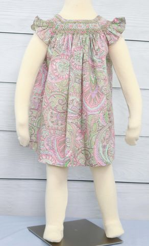 Smocked,Baby,Clothes,,Dresses,,Zuli,Kids,412539,-,CC042,Clothing,Children,Dress,Baby_Girl_Clothes,Baby_Clothes,Easter_Dresses,Baby_Girl_Easter,Easter_Outfits,Infant_Easter_Dress,Twin_Babies,Sister_Easter,Baby_Girl_Smocked,Baby_Easter_Dress,Siblings_Outfits,Birthday_Party,Paisley,Poly Cotton Fabric