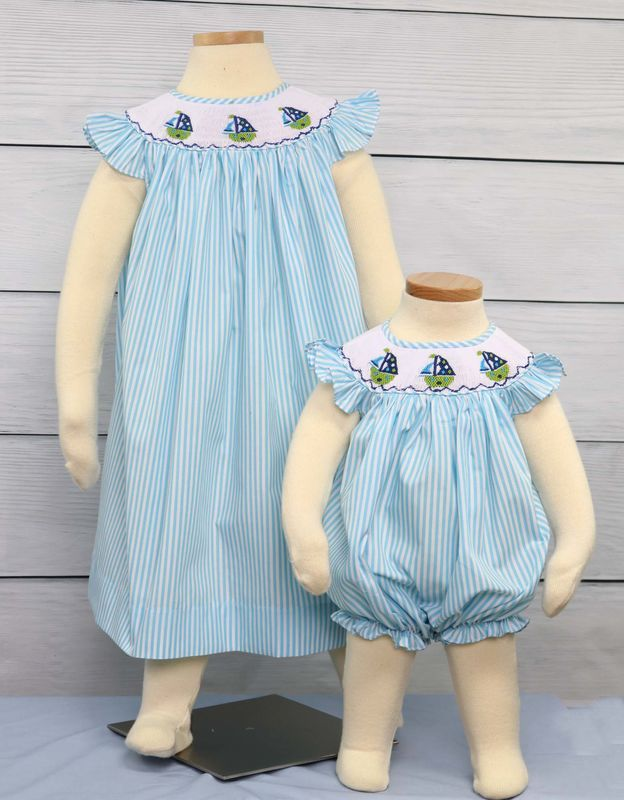 Smocked Dresses, Smocked Baby Clothes, Baby Girl Dresses, Childrens Clothes 412395 - CC034 - product images  of