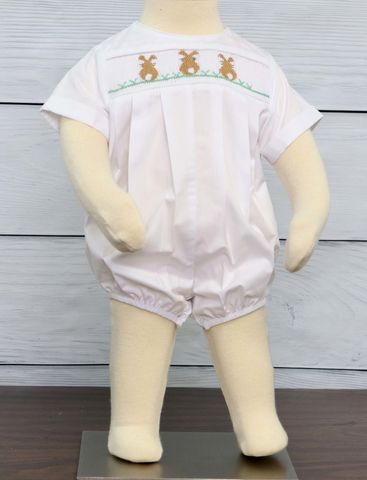 Easter,Outfits,|,Baby,Boy,Outfits|,Zuli,Kids,Clothing,412519,-,BB064,Children,Bodysuit,Baby_Bubble,Smocked_Baby_bubbles,Baby_boy_Clothes,Baby_clothes,Baby_Bubble_Suit,Smocked_Romper,Baby_boy_Smocking,Baby_boy_Smocked,Smocked_Clothing,Easter_Outfit,Easter_Bunny,Easter_Romper,Poly Cotton