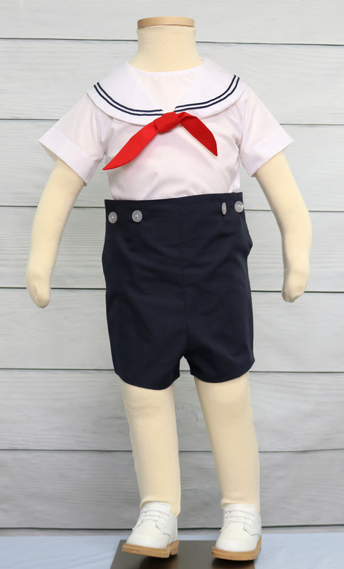 Baby Boy Nautical Clothing, Baby Sailor Outfit, Baby Boy ...