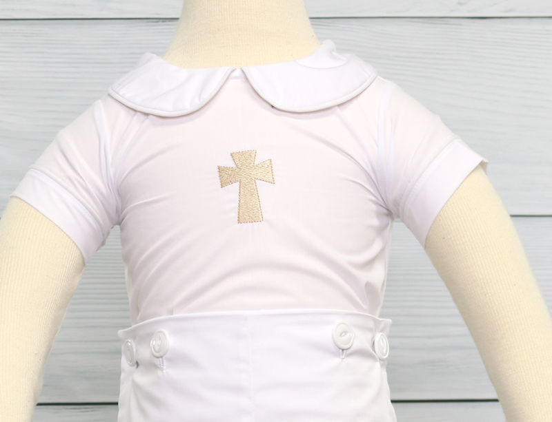 Baby Boy Baptism Suit, Baby Boy Christening Outfit, Baby Christening Outfit 292201 - product images  of