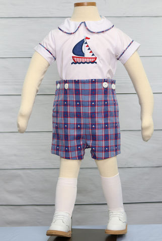 Sailor,Outfit,|,Baby,Zuli,Kids,Clothing,291460,Matching Brother Sister - Toddler Boy Sailor Romper - Nautical Birthday Boy Outfit - Boys Nautical - Baby Boy Clothes