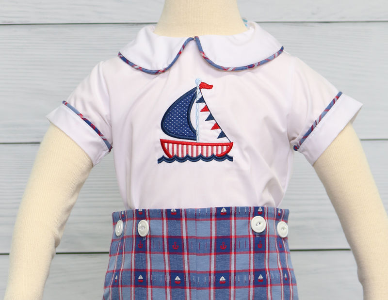 Baby Boy Sailor Outfit | Zuli Kids Clothing 291460 - product images  of