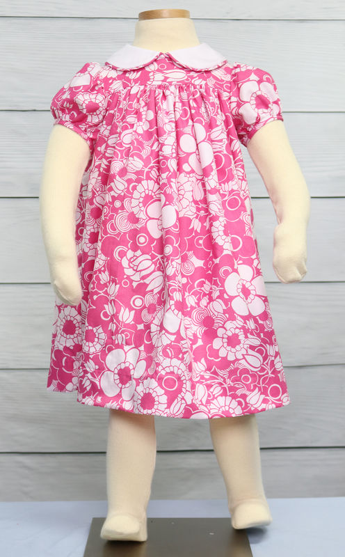 Pink Floral Baby Dress, Baby Girl Summer Clothes 293933 - product images  of