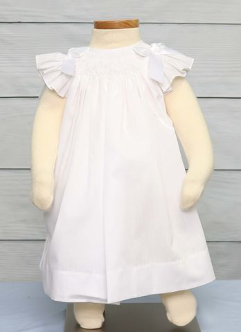 Toddler,White,Dress,|,Baptism,Dresses,Baby,412499-I095,Clothing,Children,Baby_Girl_Clothes,Easter_Dresses,Baby_Girl_Easter,Easter_Outfits,Infant_Easter_Dress,Easter_Outfit,Smocked_Dresses,Newborn_Girl_Easter,Baby_Easter_Dress,Baby_Easter,Smock_Dress,Baby_Girl_Smocked,Smocked_Bishop,Poly Cotton Fabric