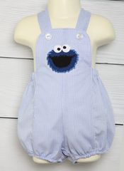 Baby,Cookie,Monster,Outfit,,Zuli,Kids,Clothing,292343,Baby Sunsuit, baby cookie monster, Zuli Kids,Sun Suits,Baby_Boy_Clothes, Baby_Boy_Sunsuit, Baby_Bubble, Baby_Bubble_Romper, Baby_Bubble_Suit, Baby_Clothes, Boy_Bubble_Romper, Cookie Monster 1st Birthday Clothes, Cookie Monster Birthday Clothes