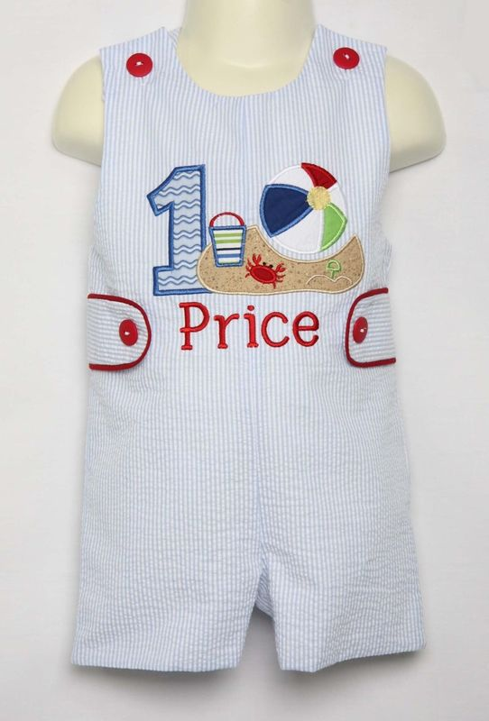 One Year Old Birthday Outfit, Beach Birthday Party, Zuli Kids 293831 - product images  of