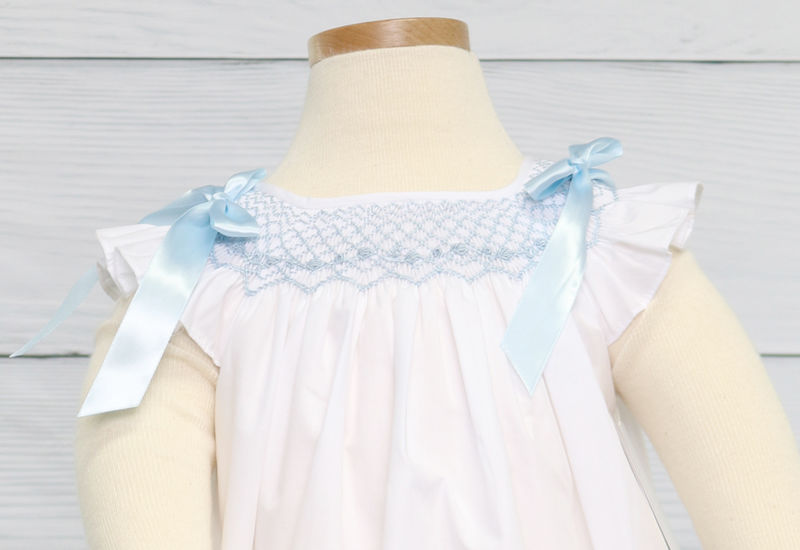 Baby Girl Bubble,  Smocked Baby Bubbles 412816 -DD233 - product images  of